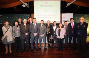 Foto consells, universitats, COG, INEFC