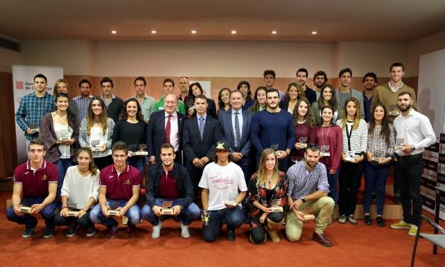 Premis Millors esportistes Universitaris 2015