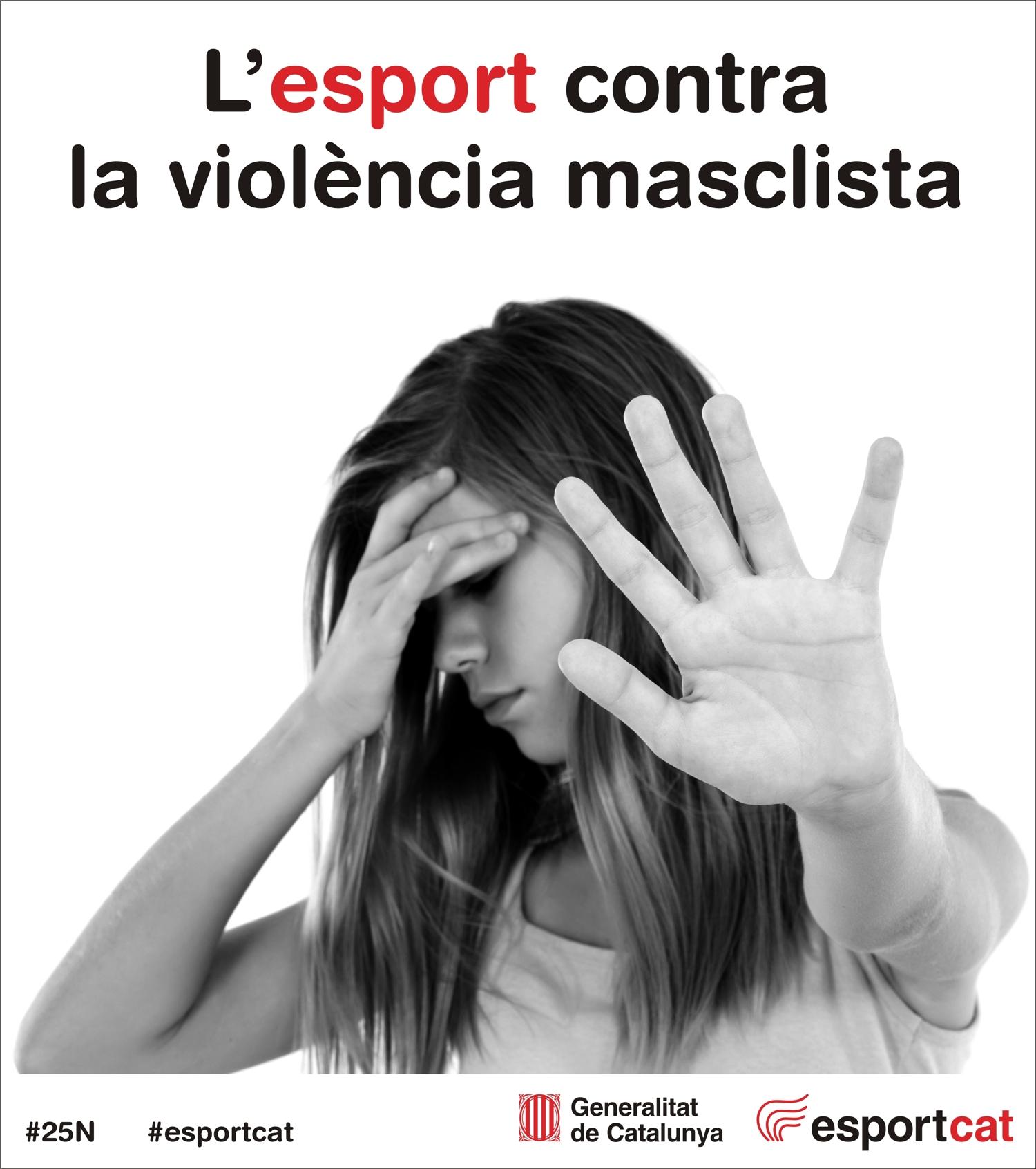 Dia Internacional per a l'eliminació de la violència envers les dones: Manifest del Món de l'Esport contra la violència masclista